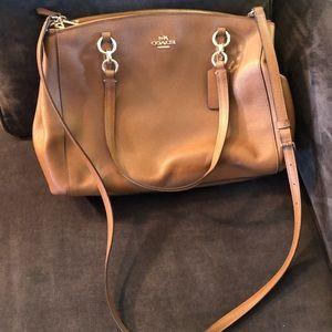 Coach purse with crossbody strap